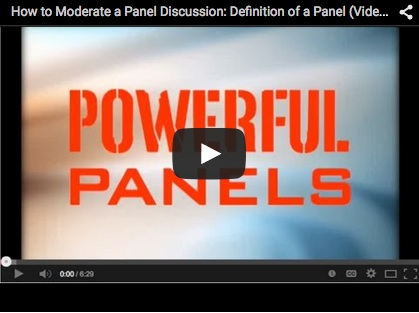 The Definition of a Panel Discussion – Powerful Panels
