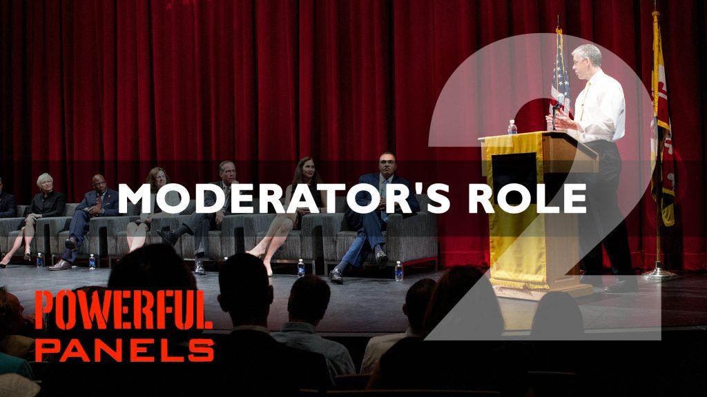 Panel Moderator