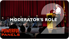 Video #2 - The Moderator's Role in a Panel Discussion