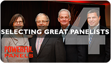 Video #4 - How to Select Great Panelists for a Panel Discussion